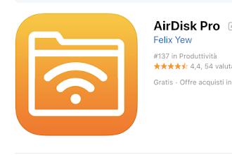 Come Utilizzare iPhone o iPad come HD esterni o chiavette USB (OGGI GRATIS)