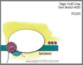 Paper Craft Crew Card Sketch Challenge #PCC293 from Mitosu Crafts UK