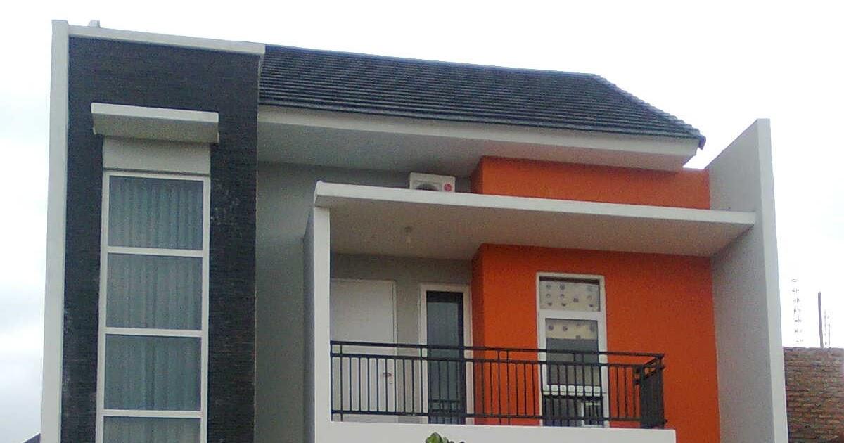 Perpaduan Warna Cat Lisplang  inspirasi 20 warna cat lisplang rumah minimalis