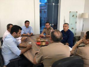 Prefeito articula ampliação de unidade do Corpo de Bombeiros em Alagoinhas