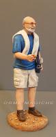 statuine presepio vestito moderno casual turista statuette personalizzate orme magiche