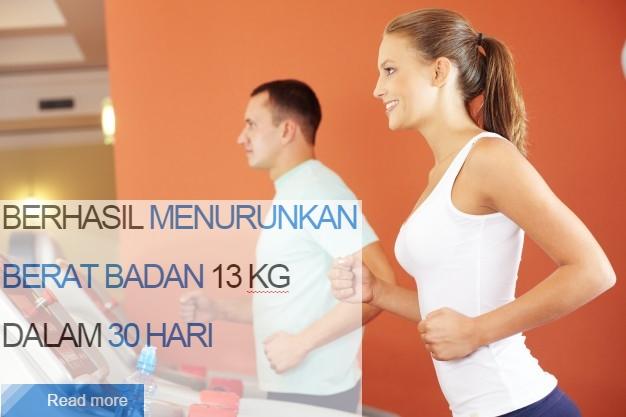 Berhasil Menurunkan Berat Badan 13kg Dalam 30 Hari