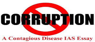 Corruption is a Contagious Disease