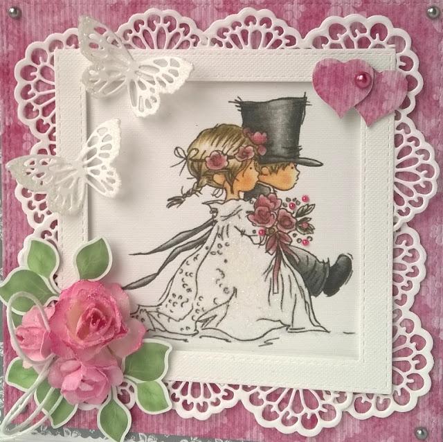 Kartki ślubne z Młodą Parą