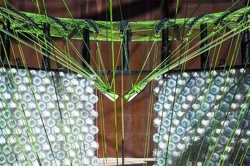 Nike Fliknit Collective Feather Pavilion, Beijing