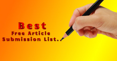 High PR Approval Article Submission sites list