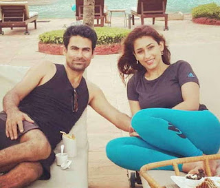 Pooja With Husband