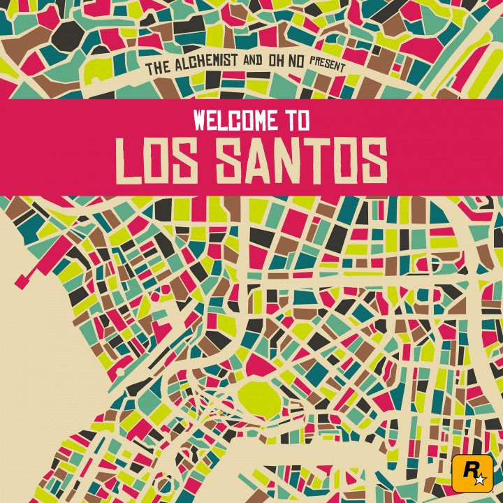 THE ALCHEMIST AND OH NO PRESENT : WELCOME TO LOS SANTOS | DER GTA V SOUNDTRACK - ATOMLABOR BLOG MUSIKTIPP