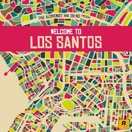 THE ALCHEMIST AND OH NO PRESENT : WELCOME TO LOS SANTOS | DER GTA V SOUNDTRACK