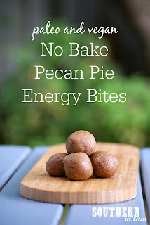 No Bake Pecan Pie Bliss Balls Recipe Vegan
