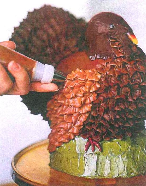Cup Cakes Turkey Decorate
