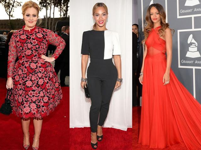 Adele, Rihanna y Beyoncé podrían ser nominadas para los Grammy 2017.