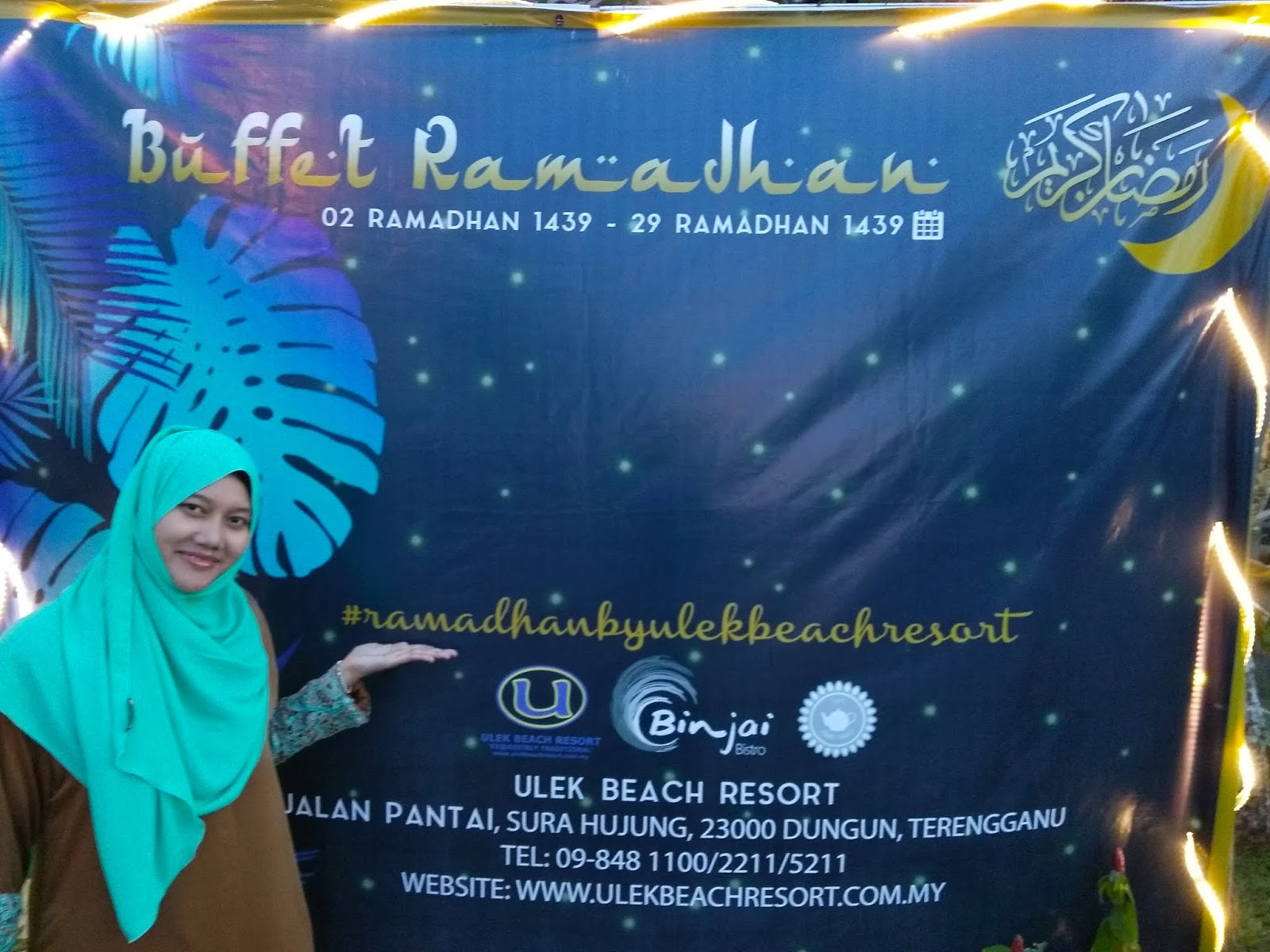 Review Ramadan Buffet Berbuka dan Sahur di Ulek Beach Resort