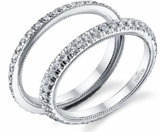2 piece Diamond Eternity Band set