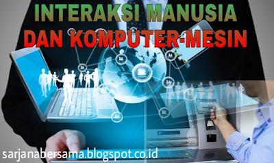 Interaksi manusia dan mesin, interaksi manusia dan komputer