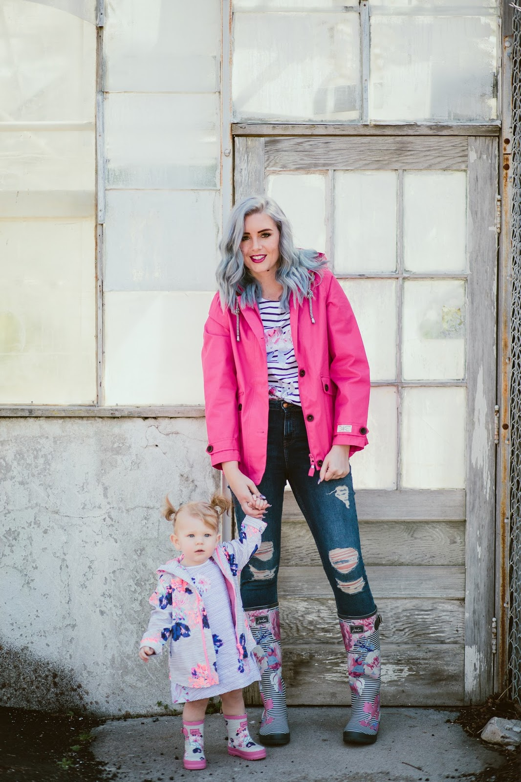Mommy and Me, Utah Fashion Blogger, Rain Gear