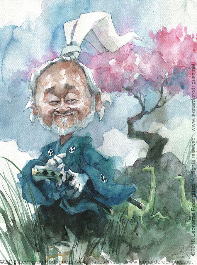 Caricatures Watercolor