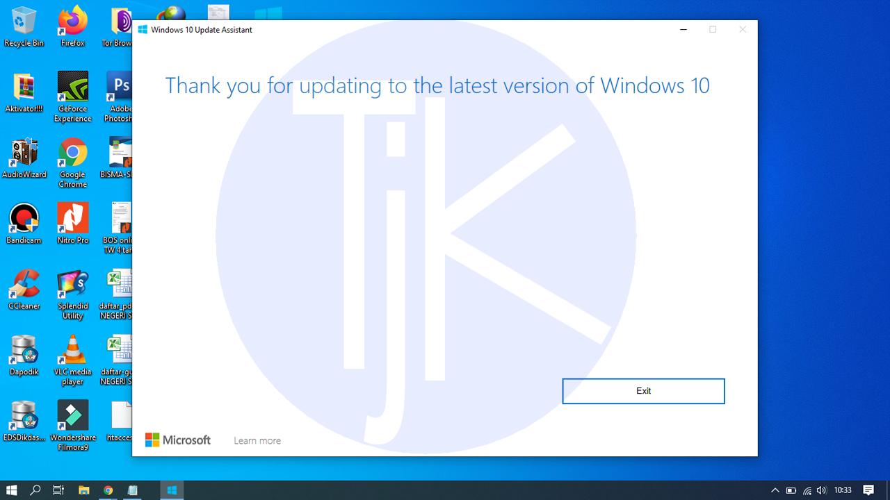 Upgrade Windows 7 ke Windows 10 Tanpa Install Ulang