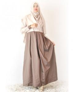 Model Desain Baju Gamis Remaja Modern Dan Modis Terbaru Cara