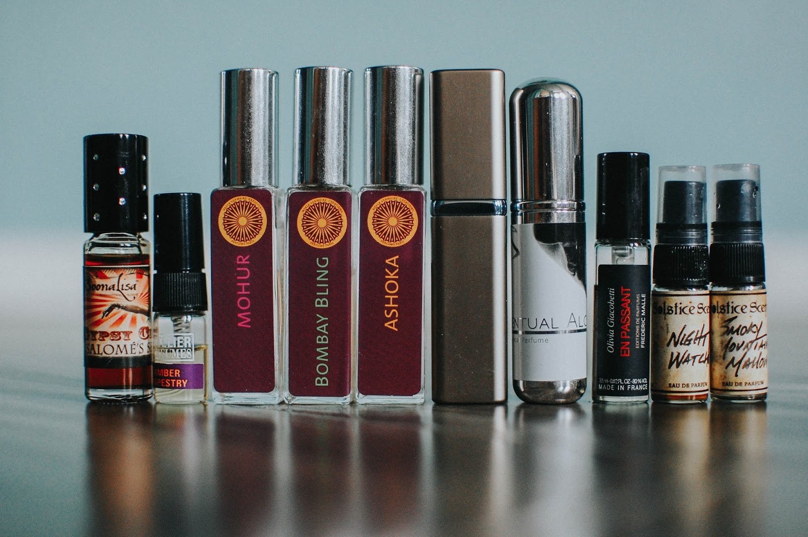The Redolent Mermaid: My Current Perfume Collection
