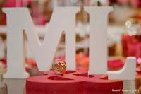 Casamento de Magali e Leandro, Salão Flamingo em Poá-SP