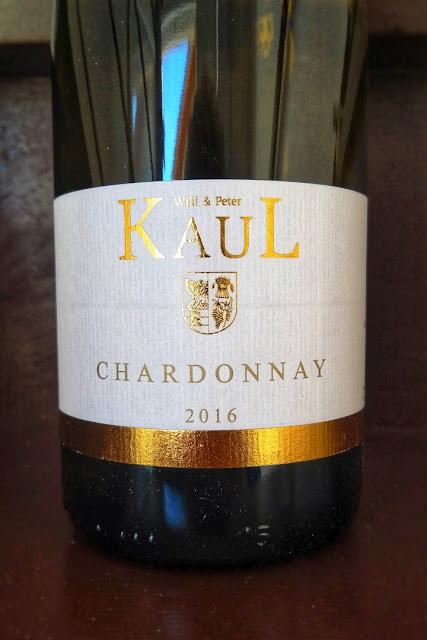 Chardonnay aus dem dem Weingut Kaul.