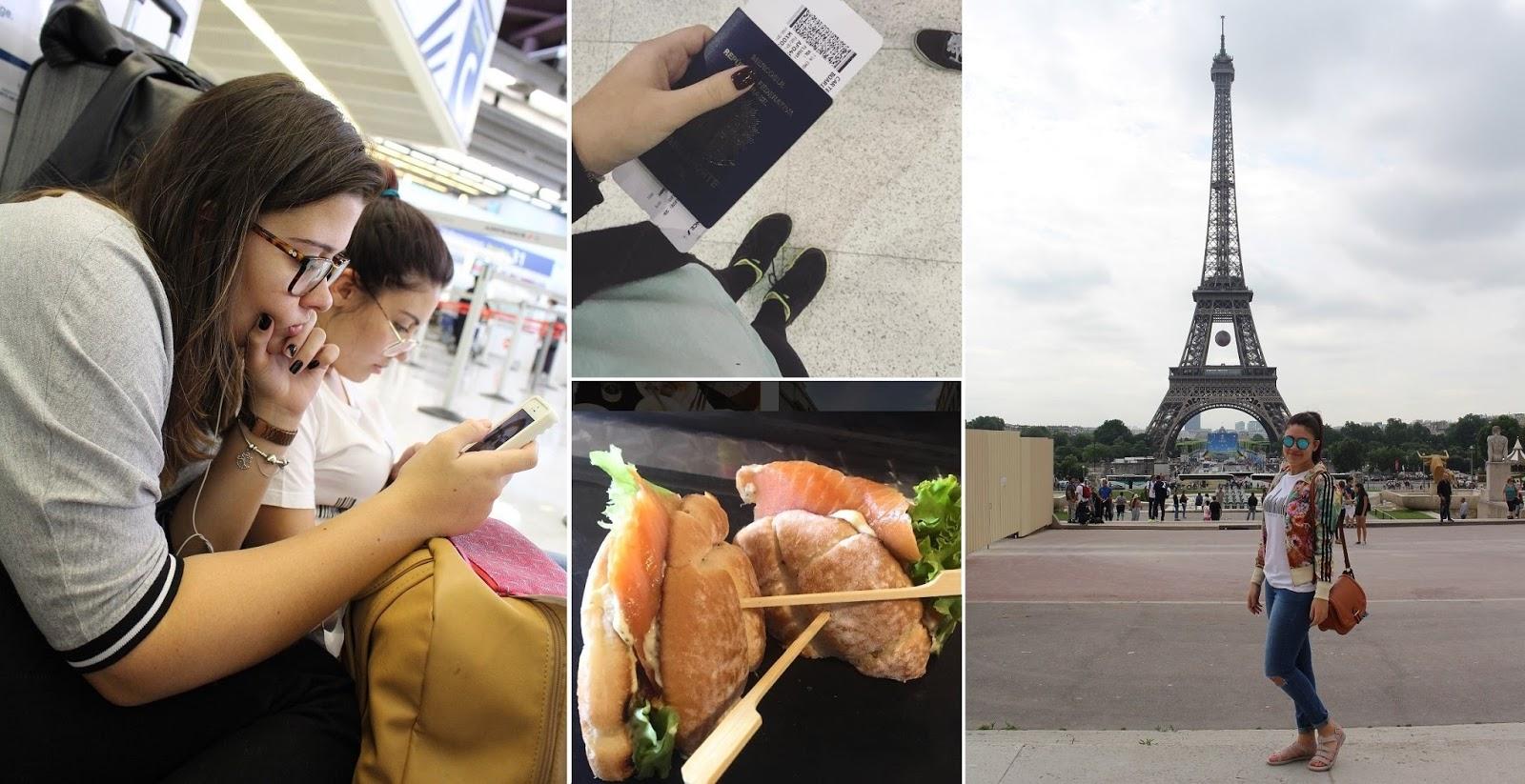 viagem a Londres Aeroporto França