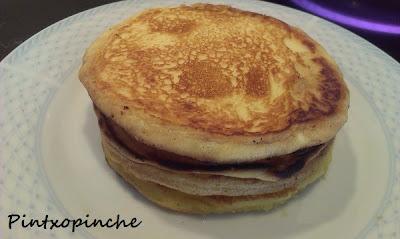 huevos, mantequilla, masas, pancakes, tortitas, sin gluten, fácil