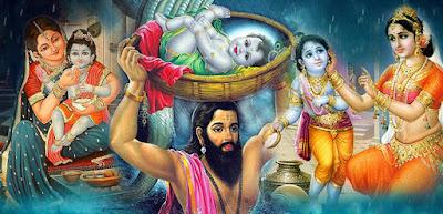 Nand Gher Anand Bhayo - Happy Janmashtami images
