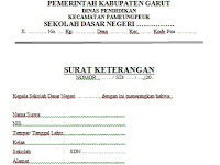 Contoh Surat Keterangan Siswa Berprestasi Terbaru Format doc