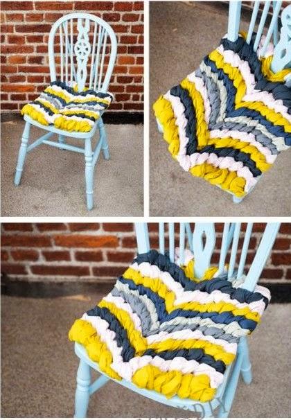 #T9 DIY: Asiento de silla trenzado
