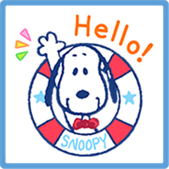 SNOOPY Summer Stickers