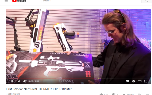 the nerf single shot work shop nerf news drac visits the toy fair