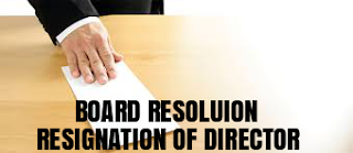 Board-Resolution-Resignation-Director