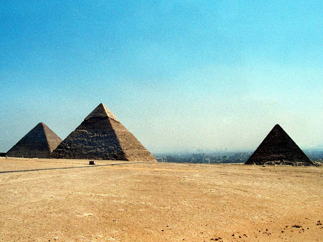 Keops; Kefren; Micerino; Pirámides; Pyramids; Pyramides; Giza; Guiza; Egipto; Egypt; Egypte