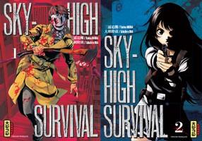 Lisez notre avis concernant le tome 1 et 2 de Sky-High Survival