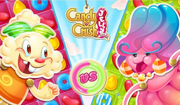 Bir Jöle Oyunu Daha Candy Crush Jelly Saga