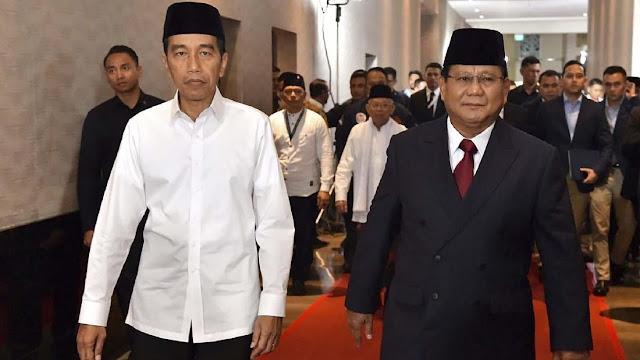 Survei Puskaptis: Jokowi Tertinggal Jauh di Sumatera dan Jawa
