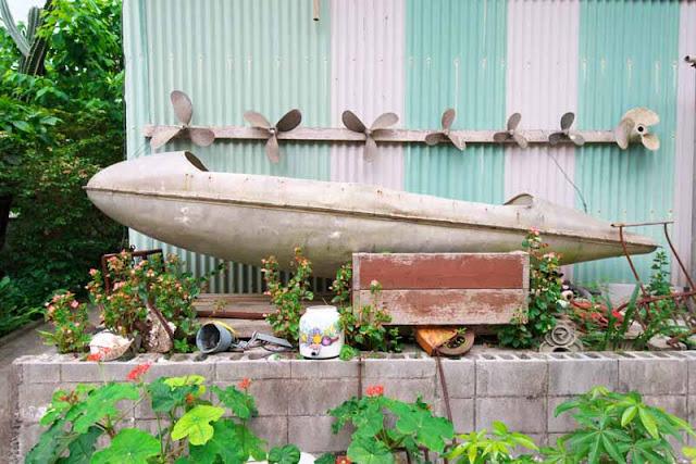 metal boat, sabani