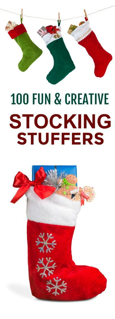 100+ STOCKING STUFFER IDEAS FOR KIDS- tons of great ideas!!!  #stockingstuffers #stockingstuffersforkids #Christmasforkids