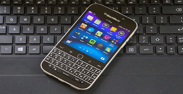 The diversion of the first video for Blackberry phone from series A