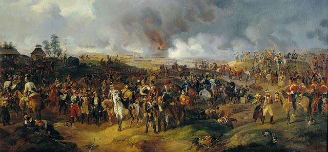Batalla de Leipzig y Napoleon Bonaparte