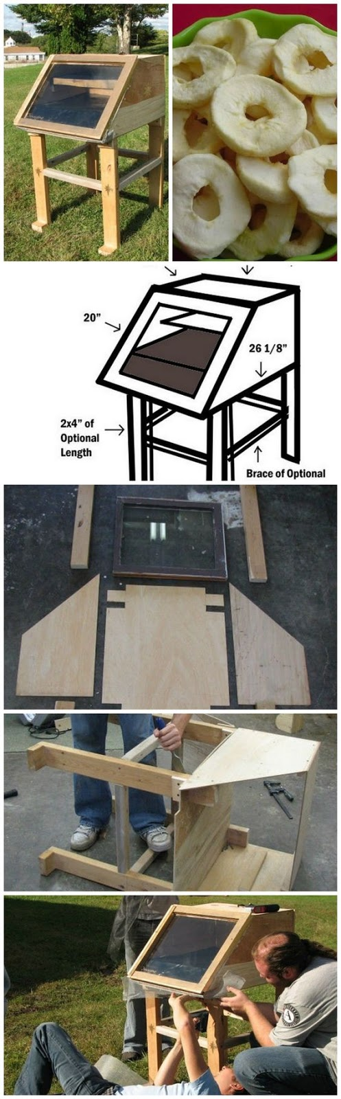 Diy solar energy items 4 off grid projects handy homemade for How to build a solar oven for kids