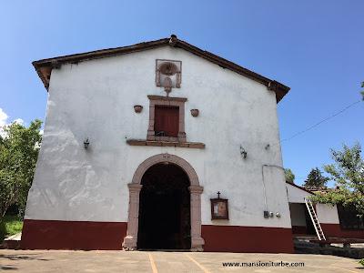 Capilla Guadalupana en Tzintzuntzan