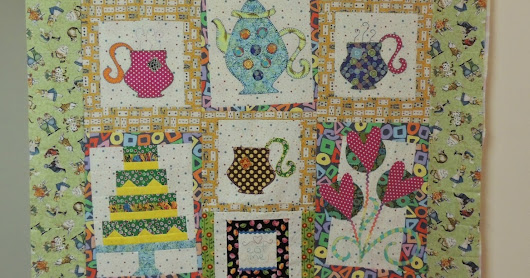Madhatter Tea Party Challenge Quilt