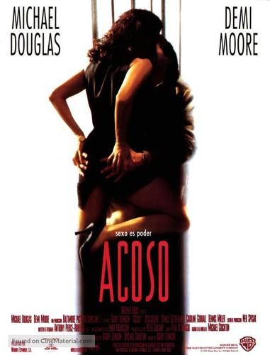 Acoso Sexual (1994) [BRrip 1080p] [Latino] [Drama]
