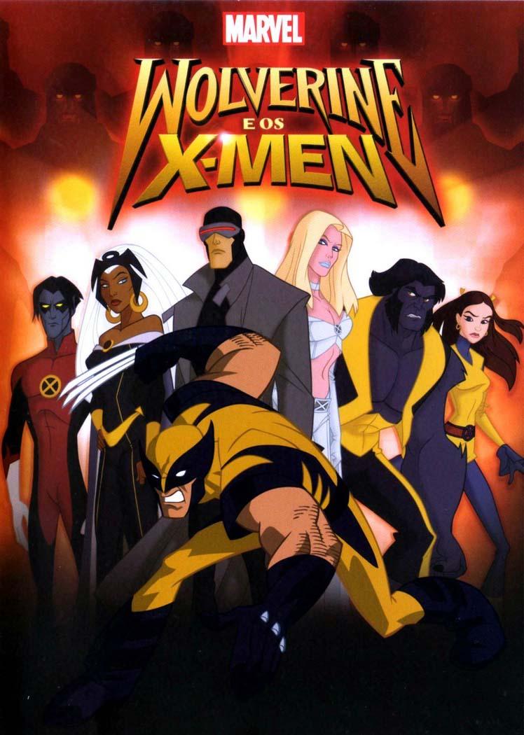 Wolverine e os X-Men 1ª Temporada Torrent - Blu-ray Rip 720p Dual Audio (2008)