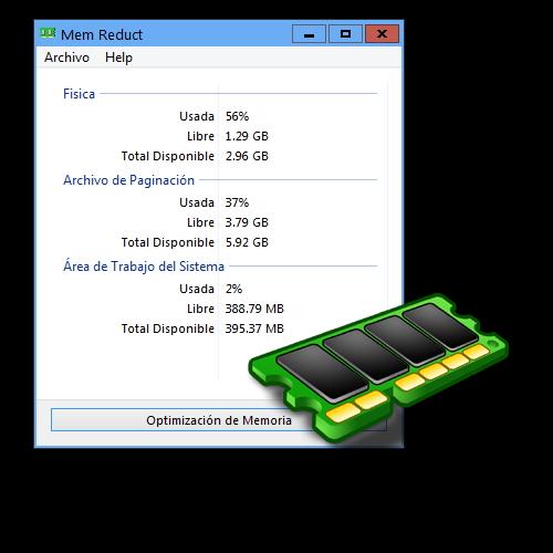 Mem Reduct 3.3.5 + Portable | Español | Reducir y optimizar el consumo de RAM en tu equipo
