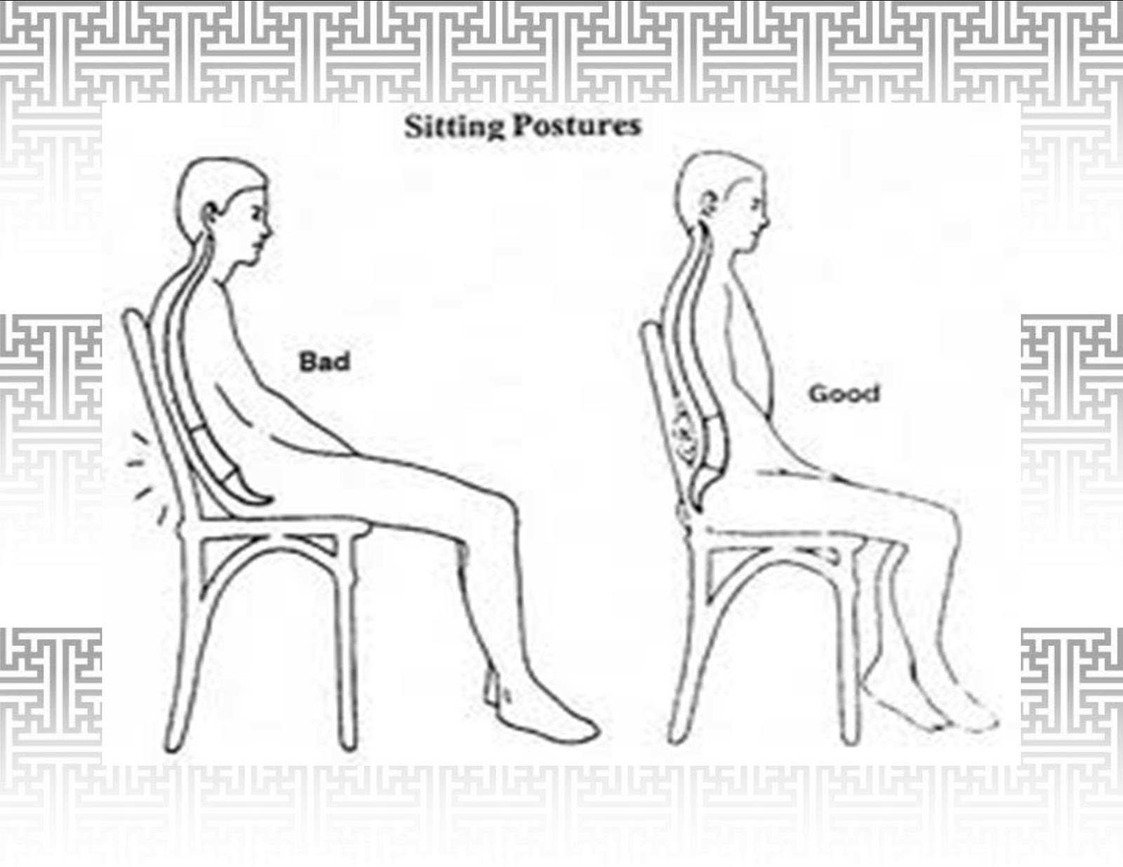Posture Chair Sitting Large Swivel Chairs Living Room Wellscript Llc 11 Great Benefits Of Having Good