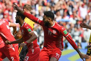 فوز عربي لمنتخب تونس في بطولة كأس العالم في روسيا